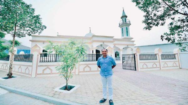 মুসলিমদের জন্য ৩ কোটি টাকা ব্যায়ে মসজিদ বানালেন খ্রিস্টান ব্যবসায়ী