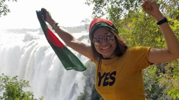 শত দেশ ঘুরার রেকর্ড করলেন বাংলাদেশের নাজমুন নাহার
