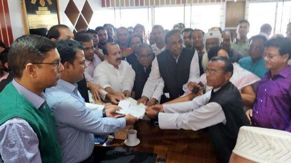 গোপালগঞ্জ-৩ আসনে শেখ হাসিনার মনোনয়নপত্র দাখিল